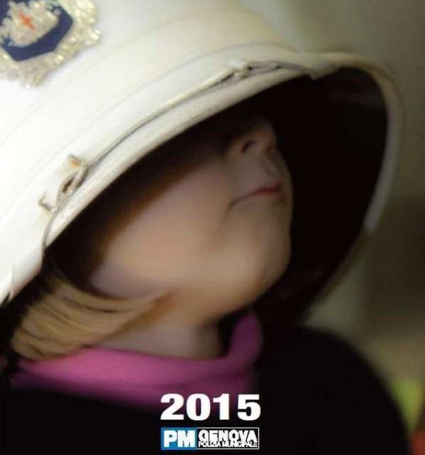 Genova – Calendario Polizia Municipale 2015 per il Gaslini