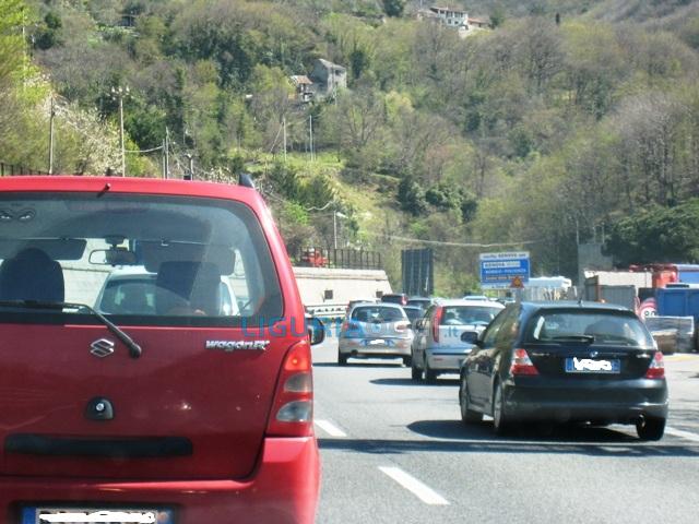 Autostrade Liguria, chiuso tratto tra l'allacciamento con la A10 e Savona verso Ventimiglia