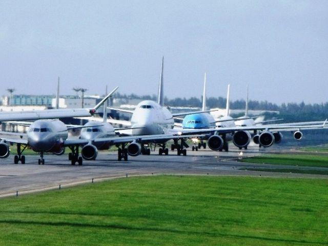 Traffico aereo nel caos in Belgio