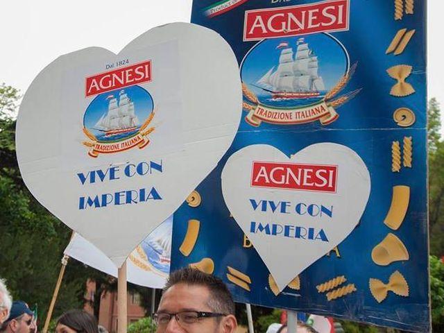 56 ore di sciopero contro la chiusura dello stabilimento Agnesi di Imperia