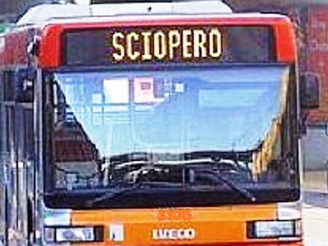 Sciopero degli Autobus martedì 14 luglio