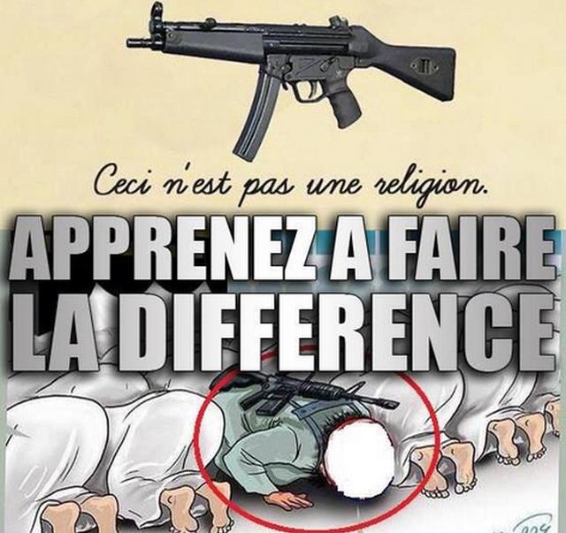 Charlie Hebdo – El Kaddouri twitta vignetta contro il terrorismo