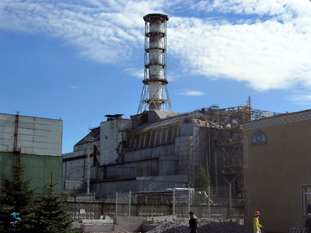 Ucraina – Incendio in una centrale nucleare