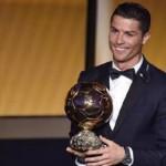 cristiano ronaldo pallone oro 2014