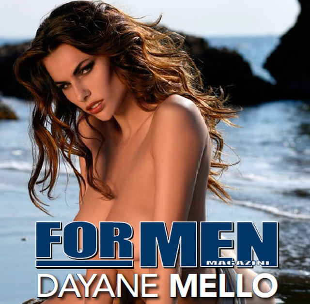 Calendari – Dayane Mello in ristampa per For Men Magazine