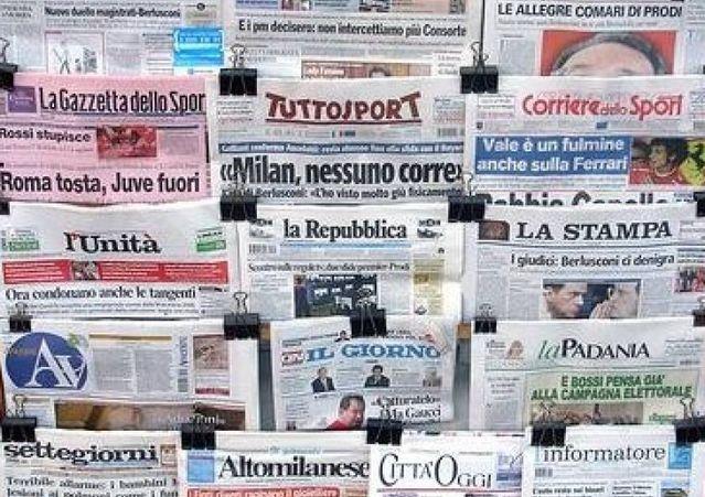 Libertà di Stampa – Italia scivola al 73esimo posto