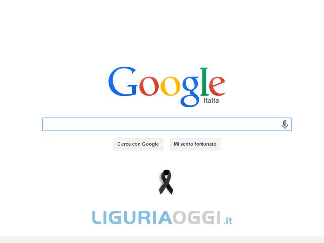 Google listato a lutto per le vittime di Charlie Hebdo