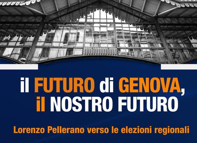 Elezioni Liguria – Lorenzo Pellerano lancia la campagna elettorale