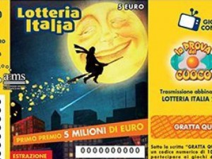 Lotteria Italia - Primo premio ad Anagni, ecco tutti i premi