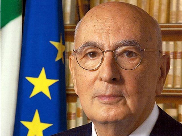 Giorgio Napolitano si dimette alle 11 con lettera al Senato ed alla Camera