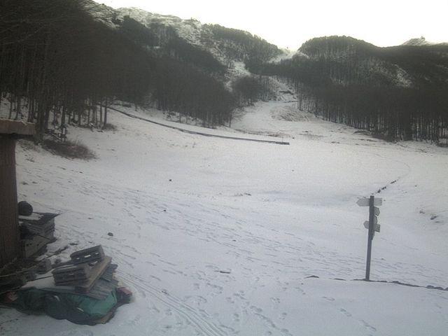 Neve a Santo Stefano d'Aveto – Primi fiocchi al Prato della Cipolla