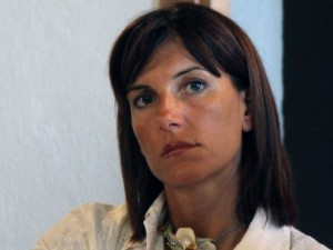 Raffaella Paita sul Tunnel di capo Noli
