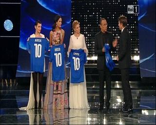 """Sanremo 2015 – Antonio Conte al Festival: """"Non lascio la Nazionale"""""""