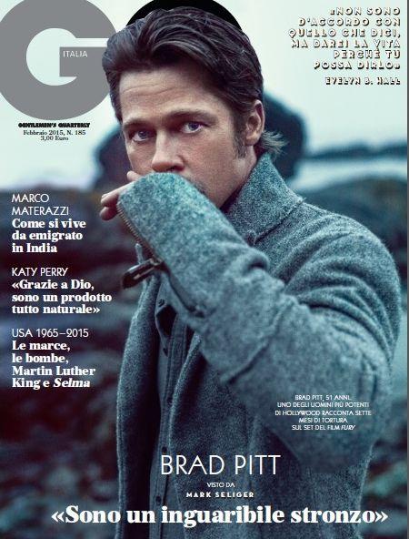Gossip – Brad Pitt su GQ Italia: sono un inguaribile stronzo