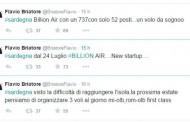 Flavio Briatore crea Billion Air, voli per la Sardegna dall'estate