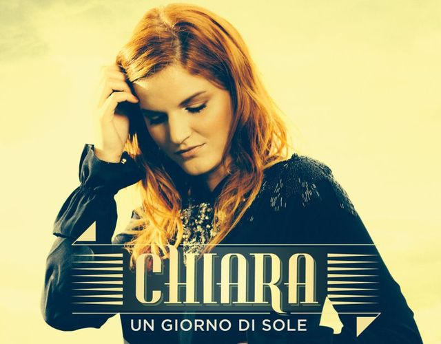 """Sanremo 2015 – Chiara sul palco con la canzone """"Straordinario"""""""