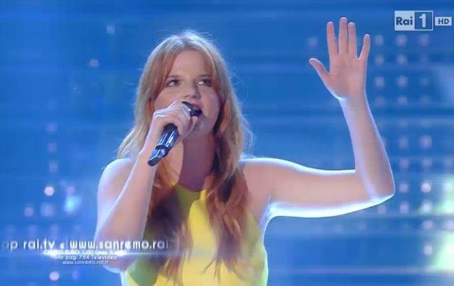 Sanremo 2015 – Chiara canta Straordinario
