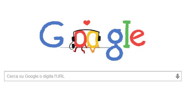 San Valentino – Google dedica un doodle alla Festa degli Innamorati