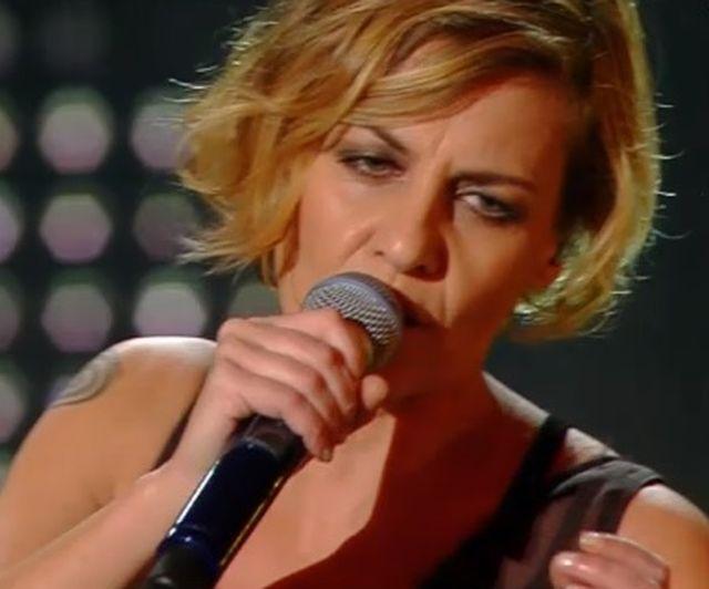 Sanremo 2015 – Irene Grandi canta Un vento senza nome
