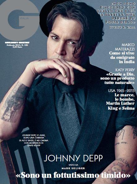 Gossip – Johnny Depp: sono un fottutissimo timido