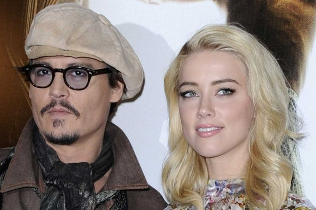 Johnny Depp sposa Amber Heard alle Bahamas