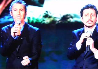 """Gossip Sanremo 2015 – Luca e Paolo irriverenti: """"Emma sembra la Clerici"""""""