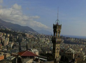 Ozono giù a Genova