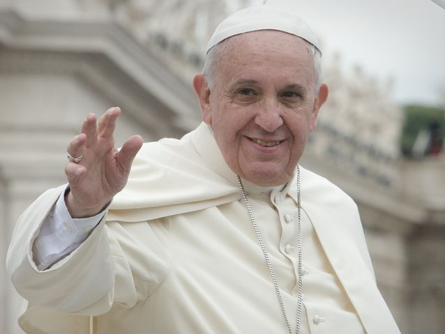 Papa Francesco in visita a Genova il 18 settembre 2016
