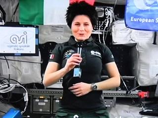 Festival di Sanremo 2015 – Samantha Cristoforetti: intervista registrata, ma Carlo Conti non lo dice