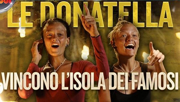 """Gossip – Isola dei Famosi 2015 vinta dai """"non famosi"""": 1e Donatella, 2° Brice Martinet"""