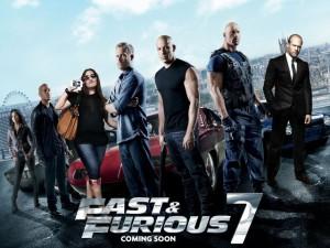 Fast & Furious 7 ad Abu Dhabi