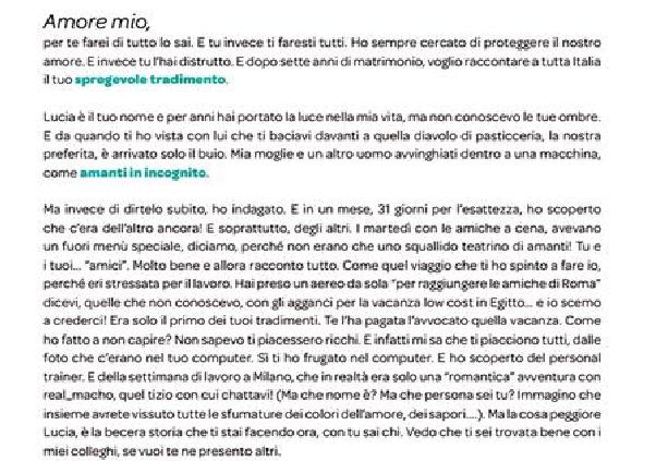 Marito tradito compra pagina sul Corriere: bufala per nuovo show di Real Time?