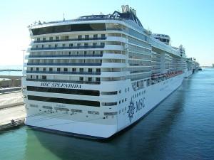 Msc Splendida torna a Genova