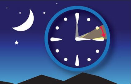 Ora legale - Orologi avanti di un'ora dalle 2 di questa notte