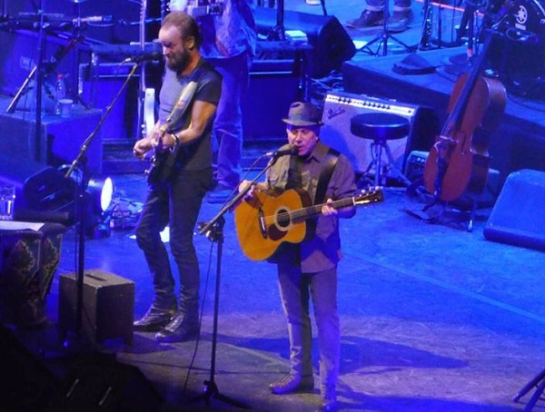 "Paul Simon e Sting 'on stage together': ""Dovevamo fare tutto il tour qui a Milano"""