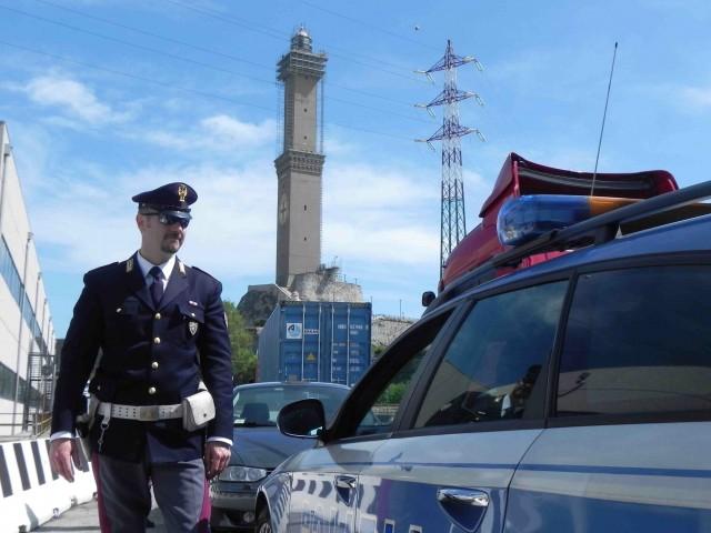 Rapinata da falsi agenti di polizia sull'Autostrada A7 Genova – Milano