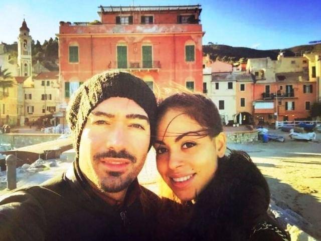 Ruby ha un nuovo fidanzato. Selfie a Laigueglia con Daniele Leo