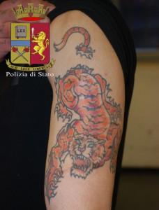 tatuaggi negli archivi polizia