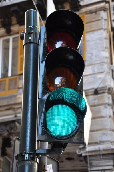 Genova, semafori di nuovo in tilt alla Foce