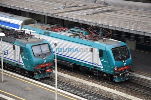 Capotreno aggredita da uomo senza biglietto sulla linea Savona-Genova