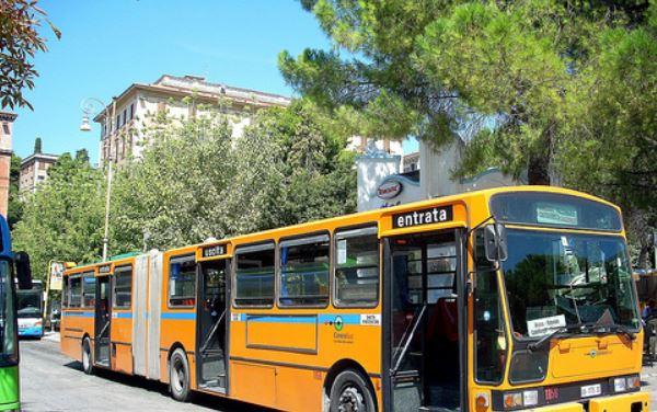 Ancona – Autobus contro muro: incidente causato da auto pirata?