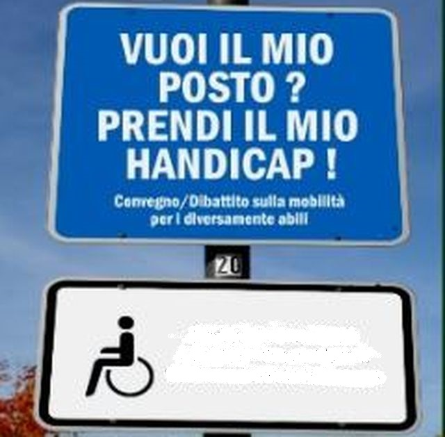 Disabili – In scadenza il contrassegno per posteggiare a Genova