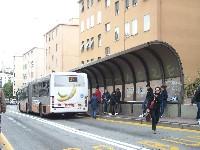 Genova – Autobus fermo per un guasto in corso Gastaldi, traffico rallentato