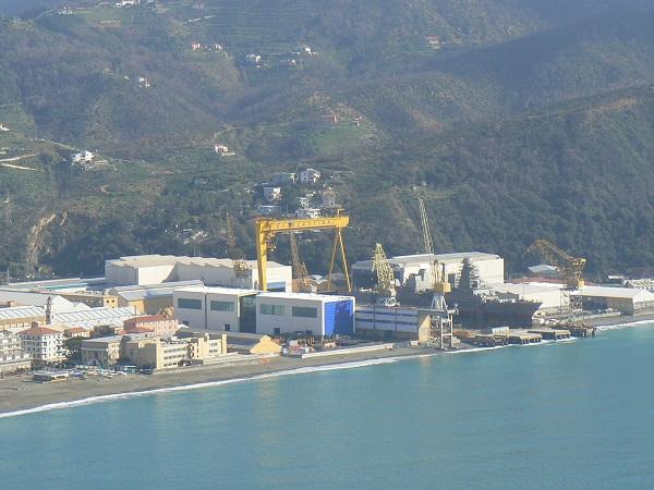 Genova, questa mattina varata la fregata Rizzo. Assenti i ministri Orlando e Pinotti