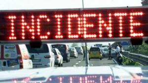 Ventimiglia - Scontro sulla A10 al confine di Stato
