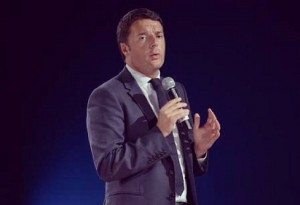Matteo Renzi a Genova