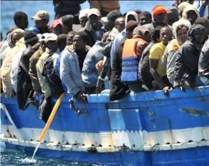 Profughi a Ventimiglia - Neofascisti francesi allontanati dal confine