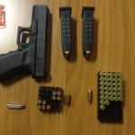 pistola armi foto questura