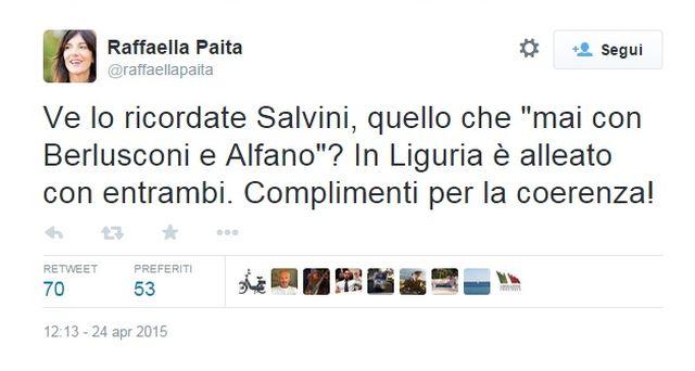 Elezioni Liguria 2015 – Catfight tra Raffaella Paita e Rixi su Twitter