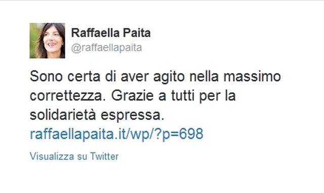 Raffaella Paita indagata per l'alluvione ma incassa la fiducia di Renzi